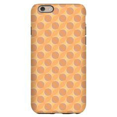iPhone 6 Slim Case with pattern Yellow and Orange