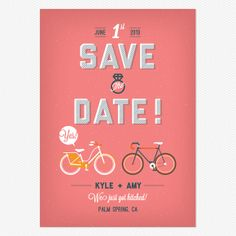 City Life Save the Date www.lovevsdesign.com