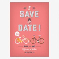 City Life Save the Date www.lovevsdesign.com