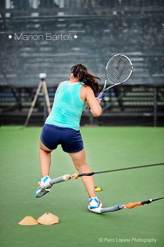 Marion Bartoli @ Rogers Cup 2012 © Piero Lopane