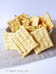 Cracker fatti in casa: 10 ricette homemade