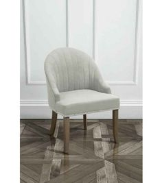Kariss Silver Upholstered Occasional Chair