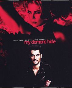 """A Black dagger brotherhood poster with lyrics from Imagine Dragons song """"Demons""""."""