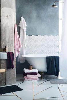 Die Farbe Grau im Badezimmer