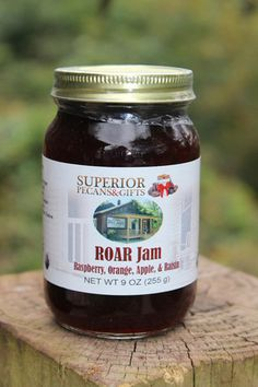 Raspberry, Orange, Apple, and Raisin make this jam enough to ROAR about!