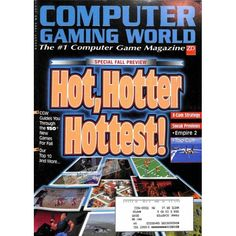 Cover Print of Computer Gaming World, August 1995 | $6.60