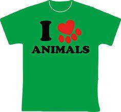 knupSilk - ESTAMPARIA/SERIGRAFIA: I Love Animals