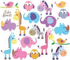 baby elephant vector - Buscar con Google