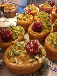 Honey and pistachio friands