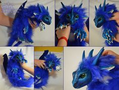 Firon Dragon Doll by Isvoc.deviantart.com on @deviantART