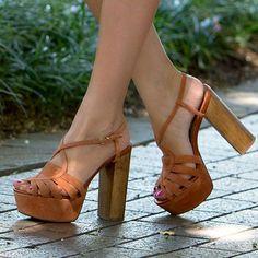 Steve Madden Gingur Suede Sandal Heels