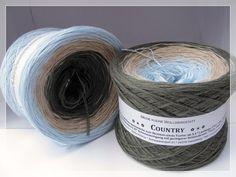 COUNTRY - 3-farbige Farbverlaufswolle - Meine kleine Wollwerkstatt