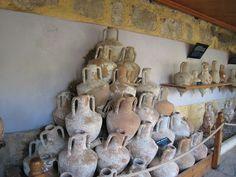 bodrum museum of underwater archeology – amphoria collection