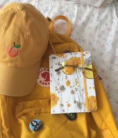 fjallraven kanken shared by Sansa on We Heart It Art Hoe Aesthetic, Aesthetic Colors, Aesthetic Photo, Aesthetic Pictures, Aesthetic Yellow, Korean Aesthetic, Aesthetic Grunge, Mellow Yellow, Mustard Yellow