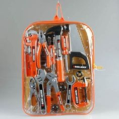 Amazon.com: Black & Decker Junior 25 Piece Tool Set: Toys & Games - Noahs first birthday present idea!