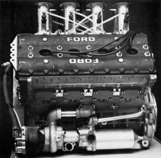 The engine that redefined Formula 1 Motor Engine, Car Engine, Sport Cars, Race Cars, Lotus F1, Ford, Race Engines, Combustion Engine, Classic Cartoons