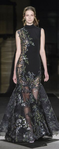 Dany Atrache Spring-summer 2018 - Couture - http://www.orientpalms.com/Dany-Atrache-7029 - ©ImaxTree
