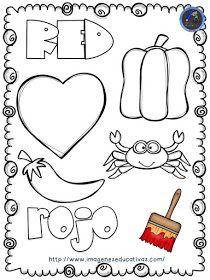 Course of crafts to teach the colors Preschool Spanish, Learning Spanish For Kids, Teaching Spanish, Kids Learning, Preschool Curriculum, Preschool Worksheets, Preschool Activities, Kindergarten, Homeschooling