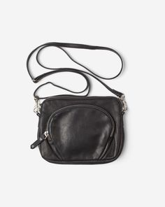 Mini Leather Bag Black