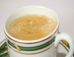 Try A Yummy Cup Of Creamy Tumeric Tea- get the recipe click the image