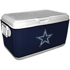 Dallas Cowboys Coleman Cooler Cover - Navy Blue