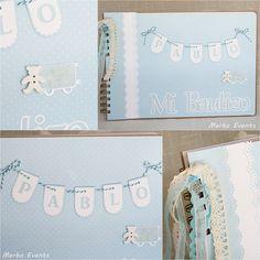 Baby Scrapbook, Scrapbook Albums, Scrapbook Cards, Baby Diary, Cuadros Diy, Diy And Crafts, Paper Crafts, Paper Art, Baby Album