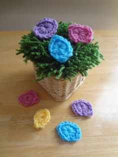 Yarn Grass With Crochet Eggs! (Photo Tutorial and Free Crochet Pattern)