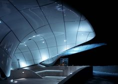 Nordpark Railway Stations - Architecture - Zaha Hadid Architects