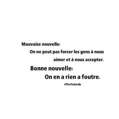 #TireTaCorde Some Quotes, Words Quotes, Happy Quotes, Funny Quotes, Mots Forts, Keep Calm Quotes, Lifestyle Quotes, French Words, Favorite Words