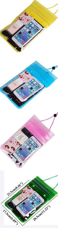 US$19.63 Seal Waterproof 6.5inch Phone Storage Bag Light PVC Beach Swimming Surfing Drift Bag
