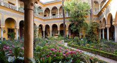El Palacio de Dueñas en Sevilla