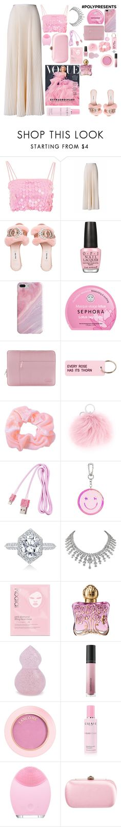 """""""#PolyPresents: New Year's Resolutions $"""" by gb041112 ❤ liked on Polyvore featuring Motel, Esme Vie, OPI, Recover, Sephora Collection, Various Projects, CITYSHOP, Rodial, Anna Sui and Forever 21"""