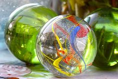 marbles. pretty vintage marbles by Amy Rue.