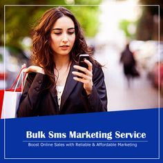Generate instant leads through our most effective 📱Bulk Sms Marketing services with Online Sales, Marketing, Text Posts