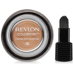 Revlon ColorStay Crème Eye Shadow, Caramel ($5.69) ❤ liked on Polyvore featuring beauty products, makeup, eye makeup, eyeshadow, revlon eyeshadow, revlon, revlon eye shadow and revlon eye makeup