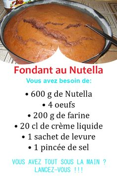Who can resist Nutella and chocolate? Discover this all chocolate and hazelnut cake recipe to taste to taste it. Hazelnut Cake, Cake Factory, Chocolate Mugs, Gourmet Desserts, Natural Supplements, Nutritional Supplements, Eating Plans, Cake Cookies, Fondant
