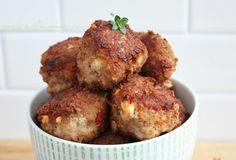 Sun-dried Tomato & Feta Meatballs (Low Carb & Gluten Free) - I Breathe... I'm Hungry...