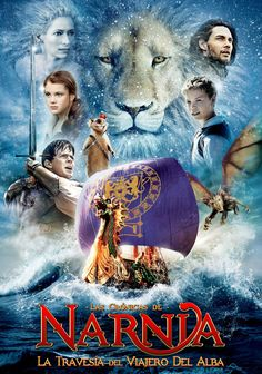 """You must learn to know Me by it. That was the very reason why You were brought to Narnia, that by knowing Me here for a little while, you may know Me better there."""" Chronicles of Narnia: The Voyage of the Dawn Treader Streaming Movies, Hd Movies, Disney Movies, Movies To Watch, Movies Online, Disney Movie Posters, Streaming Hd, Movies Free, Romance Movies"""