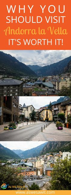 The medieval center of Andorra la Vella may be quaint and cute, but are there any things to do and see there? Is it worth visiting? Europe Travel Tips, European Travel, Travel Guides, Travel Destinations, Euro Travel, Travel Articles, Travel Advice, Places In Europe, Places To Visit