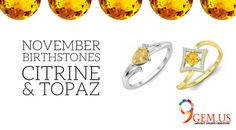 So this month, its Citrine and Topaz and they are called the November Birthstone. Citrine Crystal, Topaz Gemstone, What Are Thoughts, Brownish Yellow, Greek Names, Imperial Topaz, Circular Pattern, Natural Crystals, Mind Blown