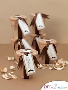 The ultimate list: 1001 party favors ideas for all family celebrations - Party favors plant pot - Ultimate Wedding Gifts, Wedding Thank You Gifts, Wedding Gifts For Guests, Unique Wedding Gifts, Diy Wedding, Wedding Ideas, Wedding Stuff, Communion Party Favors, Baptism Favors