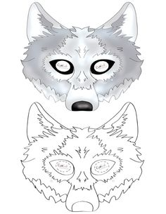 Printable Wolf Mask - Coolest Free Printables