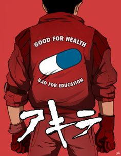 Mercenary Garage: Good For Health, Bad For Education #Akira