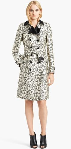 Mom Style Lab features Burberry London Lace Trench - Read about it here: http://momstylelab.com/fab-from-the-lab-discovered-weekly-3/