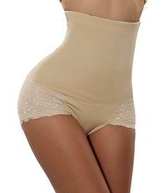 d94b4c48a6 Lingerie - Gotoly Women Body Shaper High Waist Butt Lifter Tummy Control  Panty Slim Waist Trainer at Women s Clothing store