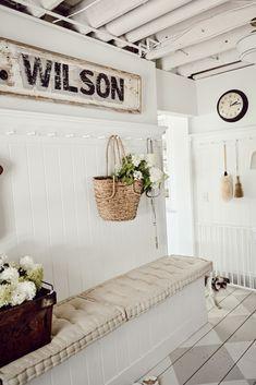Cozy Mudroom Summer Refresh - Liz Marie Blog