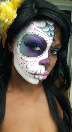 Kathryn something to practice for next Halloween!! Sugar Skull