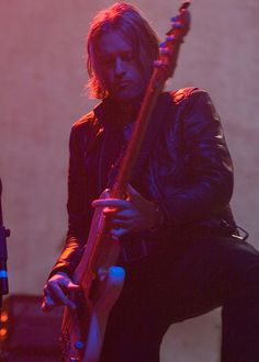 Chris Wyse, bassist of Owl and The Cult. What a boss.