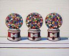 "Wayne Thiebaud, 1963 Three Machines  ""Pop Art"""