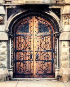 Rustic Home Decor Ornate Door Photography Photo